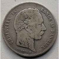 Дания 1 крона 1875