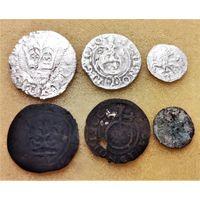 ПОЛУГРОШ КАЗИМИРА IV ЯГЕЛЛОНЧИКА (1446-1492), ПОЛТОРАК 1624 СИГИЗМУНДА III, ДВУДЕНАРИЙ 1570 ЖИГИМОНТ АВГУСТ + ИХ ФАЛЬШАКИ ТОГО ВРЕМЕНИ. ПО БЛИЦУ - ПОЧТОЙ БЕСПЛАТНО!