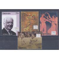 [1384] Гренада 2004.Спорт.Олимпика.