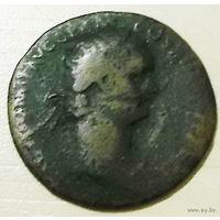 DOMITIAN AE dupondius. 94-95 год н. э. 28mm