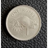1 рупия Сейшелы 1992 года.