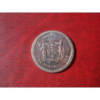 5 долларов 1995 год Ямайка