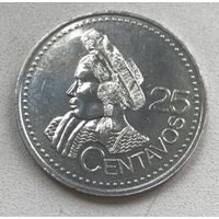 Гватемала 25 сентаво 2000 г.
