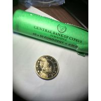 50 евроцентов Кипр 2010 год