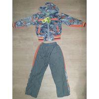 Новая куртка и штаны деми для мальчика на 104-110