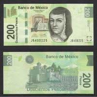 Распродажа коллекции. Мексика. 200 песо 2014 года (P-125аw - 2004-2017 Issue)