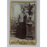 Фото девушки до 1917г. Размер 7.5-12 см.