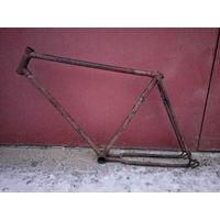 Велосипед ММВЗ В-16 рама велорама ссср