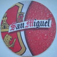 Бирдекель (подставка под пиво) San Miguel