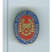 Официальный знак аматорской ассоциации хоккея Канады представляла страну в IIHF
