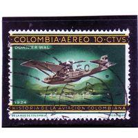 Колумбия.Ми-1070. Самолет Дорнье - 1924. Серия: История Колумбийской авиации.1966