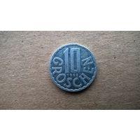 Австрия 10 грошей, 1992г.  (Б-3)