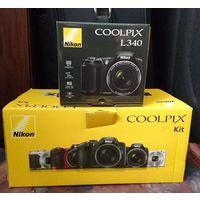 Цифровая фотокамера Nikon Coolpix L340 Black / Kit.
