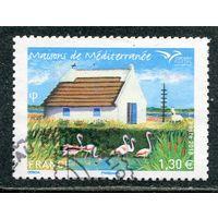 Франция. Дом в Камарге, болотистой местности
