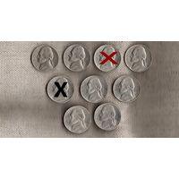 США 5 центов P/1980/1981/1984/1995/1999/2000/2002/(En)