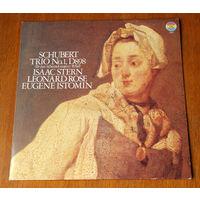 Schubert. Trio No.1, D898 - Isaac Stern, Leonard Rose, Eugene Istomin LP, 1979