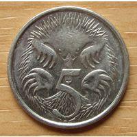 АВСТРАЛИЯ-5центов2008г.               KM# 401