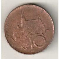 Чехия 10 крона 1996