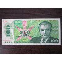 Чехословакия, 100 крон, 1989 г.