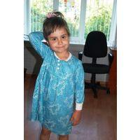 Оригинальное платье для девочки до 35 лет