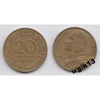 20 сантимов 1964 г. Франция.