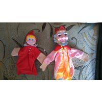 Куклы перчатки, театральные.