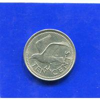 Барбадос 10 центов 1995