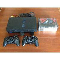 Игровая консоль PLAYSTATION 2 NTSC-U made in Japan + Диски