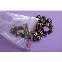Транзистор BD680 Darlington PNP (Ucb max=80V; Uce max=80V; Ic max=4A; Pc max=40W; Ft max=1MHz; Hfe>750)