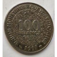 Западная Африка 100 франков, 1997  1-4-39