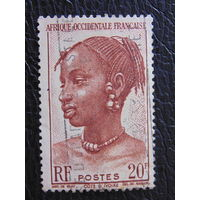 Французская Африка. Кот-д`Ивуар.