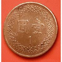 24-13 Тайвань, 1 доллар 1981 г.