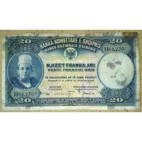 20 франка 1926г.
