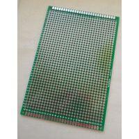 Макетная плата 8x12 см, двухсторонняя (стеклотекстолит)