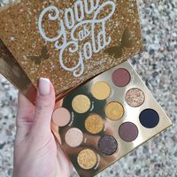 Палетка теней Colourpop Good as gold