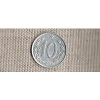 Чехословакия/Чехия 10 геллеров 1969(Nv)