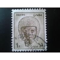 Египет 1985 посмертная маска фараона