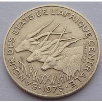 Центральные Африканские штаты. 10 франков 1975 год КМ#9