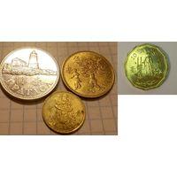Макао 10, 20, 50 авос, 1 патак 1992-2015, набор из 4 монет, Специальный административный район