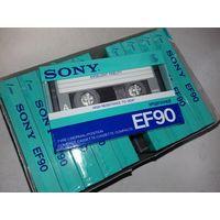 10 новых аудиокассет SONY в упаковке одним лотом