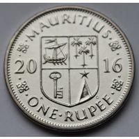 Маврикий, 1 рупия 2016 г.