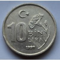Турция, 10.000 лир, 1997 г.