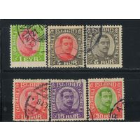 Дания Исландия Уния 1920 Христиан X Стандарт