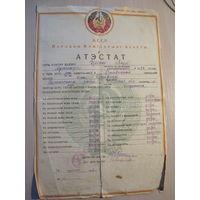 Атистат БССР 1941 год.