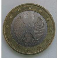 2002 г. 1 Евро. Германия