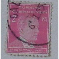 Кемаль Ататюрк. Турция. Дата выпуска:1931-09-01