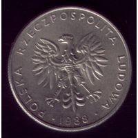 20 Злотых 1988 год Польша