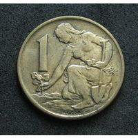 Чехословакия 1 крона 1962