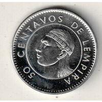 Гондурас 50 сентаво 2014