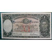 Австралия 1 фунт 1942 год